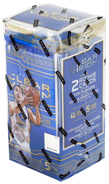 2015/16 Clear Vision Basketball Hobby Box - Sports Trading Cards UK