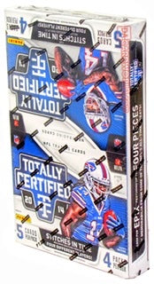 2014 Panini Totally Certified Football Hobby Box - Sports Trading Cards UK