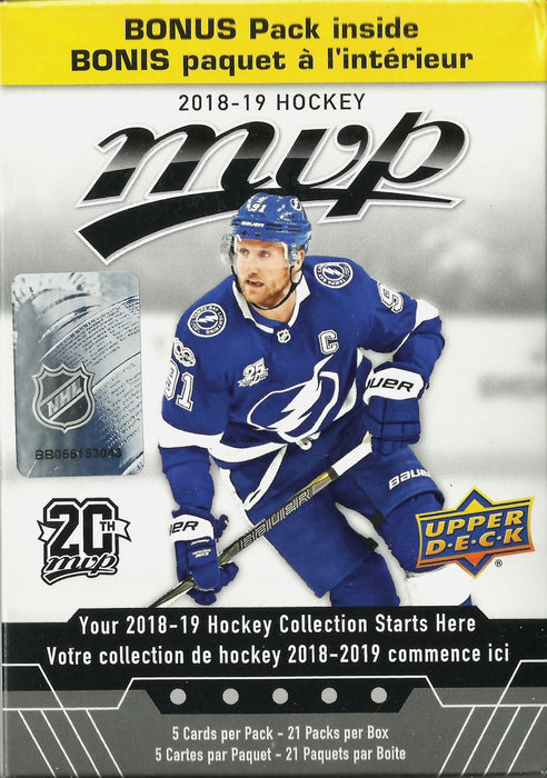 2018-19 Upper Deck MVP Hockey Blaster Box - Sports Trading Cards UK
