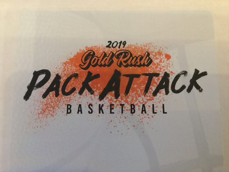 2019 Gold Rush Basketball Pack Attack Box - 15 packs per box - Sports Trading Cards UK