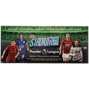 2016 Topps Stadium Club Premier League Soccer Hobby Box - Sports Trading Cards UK