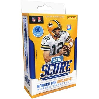 2018 Panini Score Football Hanger Box - Sports Trading Cards UK