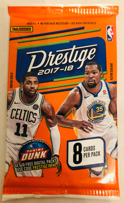 2017/18 Panini Prestige Basketball Retail Pack - Sports Trading Cards UK