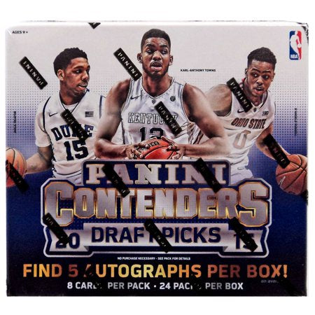 2015/16  Panini Contenders Draft Picks Basketball Hobby Box - Sports Trading Cards UK