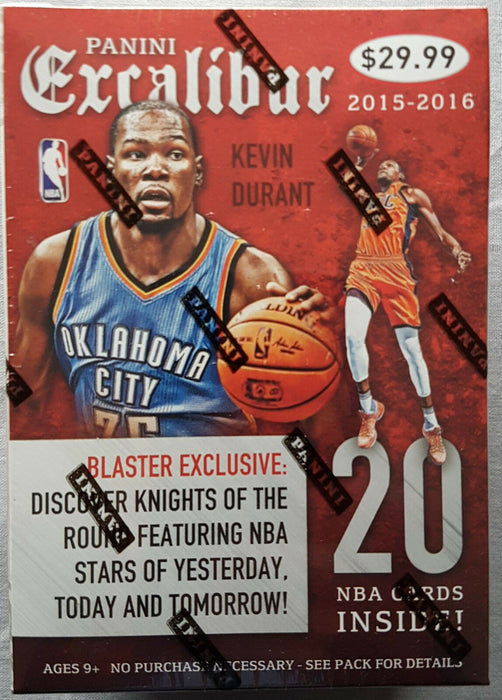 2015-16 Panini Excalibur Basketball Blaster Box - Sports Trading Cards UK