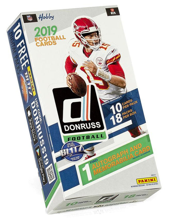 2019 Panini Donruss Football Hobby Box - Sports Trading Cards UK