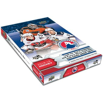 2018/19 Upper Deck AHL Hockey Hobby Box - Sports Trading Cards UK