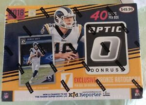 2018 Panini Donruss Optic Football Collectors Box - Sports Trading Cards UK