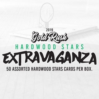 2019 Gold Rush Extravaganza Basketball Hardwood Stars Box - Sports Trading Cards UK