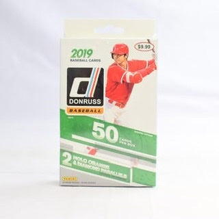 2019 Panini Donruss Baseball 50ct Hanger Box - Sports Trading Cards UK