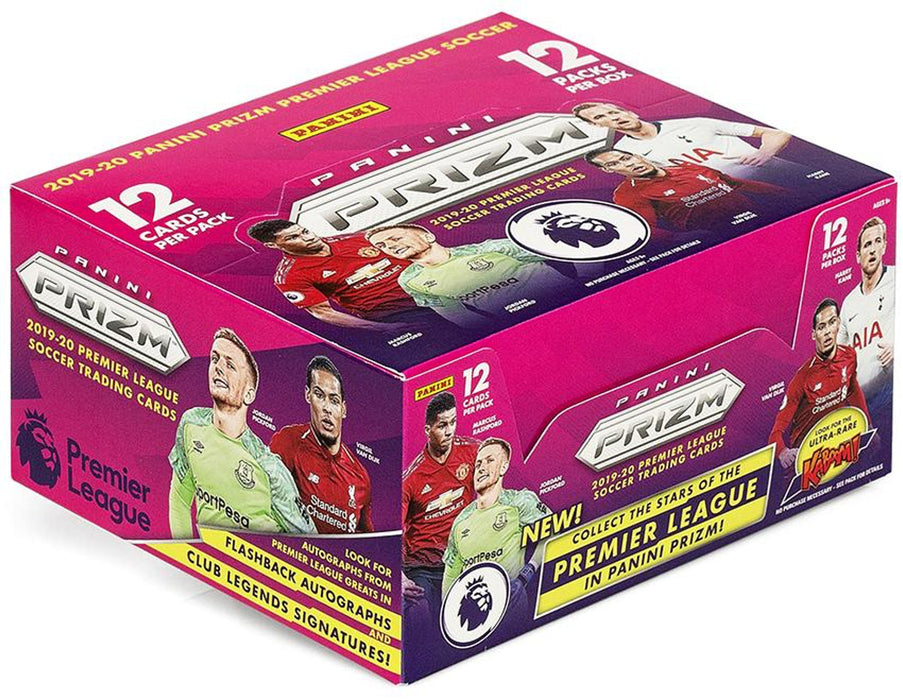 2019/20 Panini Prizm Premier League Soccer Hobby Box - Sports Trading Cards UK