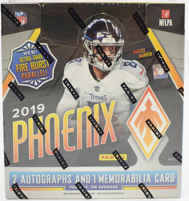 2019 Panini Phoenix Football Hobby Box - Sports Trading Cards UK