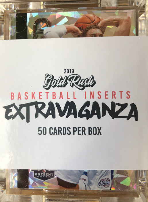 2019 Gold Rush Extravaganza Basketball Insert Box - Sports Trading Cards UK