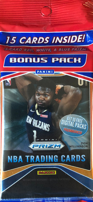 2019-20 Panini Prizm Basketball Cello Pack - 3 packs per Cello pack - Sports Trading Cards UK
