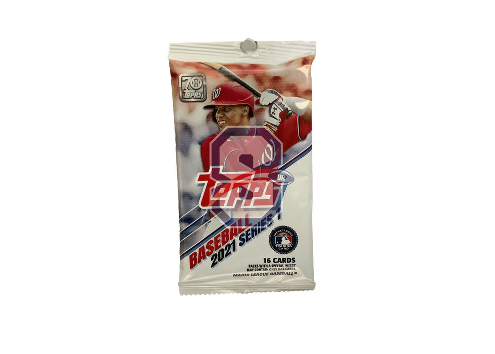 2021 Topps Series 1 Baseball Retail Pack
