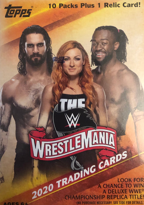 2020 Topps WWE Road To Wrestlemania Wrestling Blaster Box - Sports Trading Cards UK