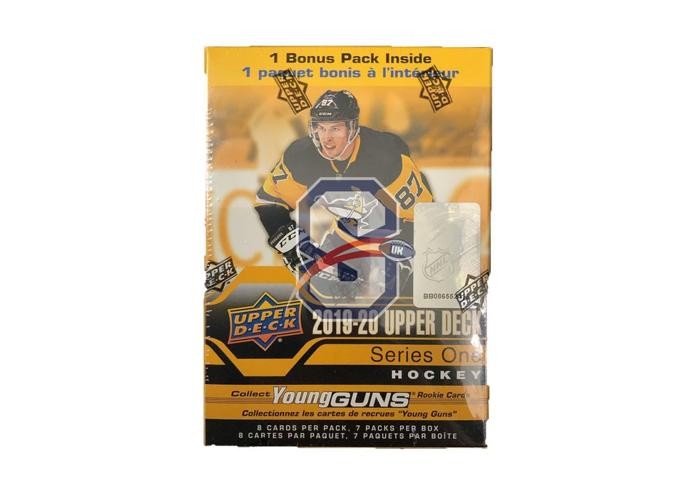 2019/20 Upper Deck Series 1 Hockey Blaster Box - Sports Trading Cards UK