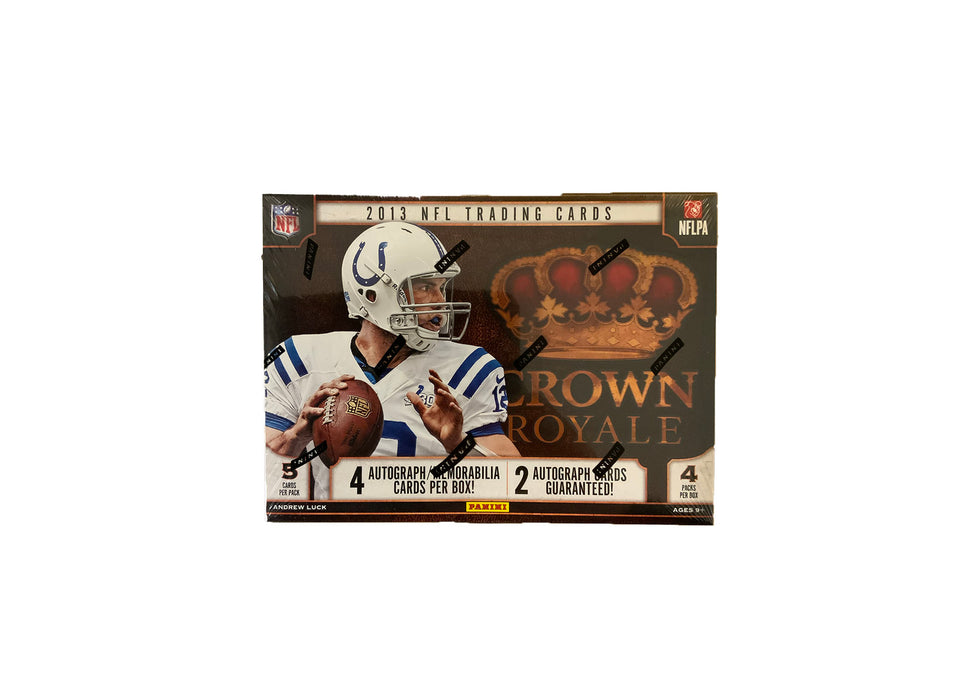 2013 Panini Crown Royale Football Hobby Box - Sports Trading Cards UK