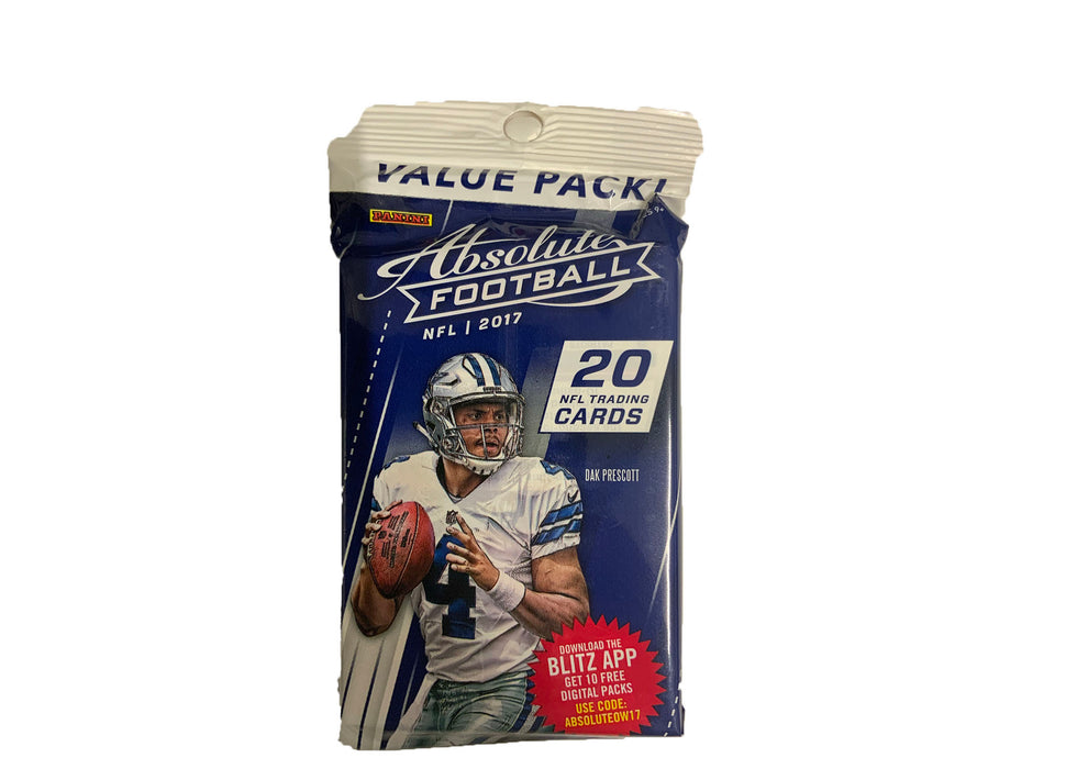 2017 Panini Absolute Football Value Pack