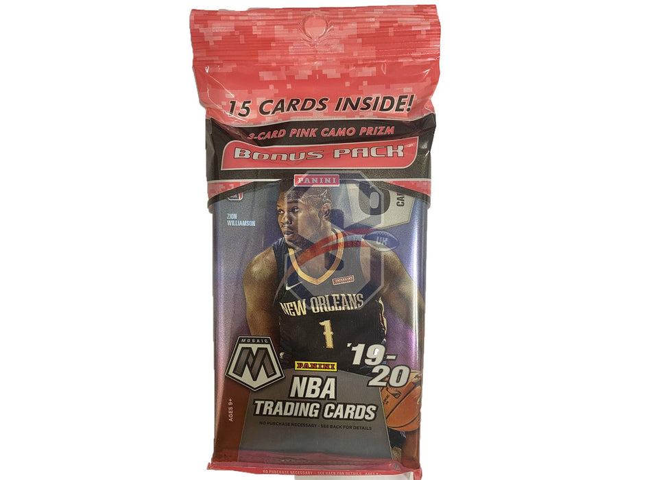 2019/20 Panini Mosaic Basketball Cello Pack