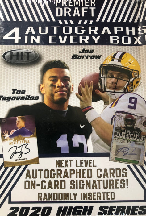2020 Sage Hit High Series Football Blaster Box - Sports Trading Cards UK