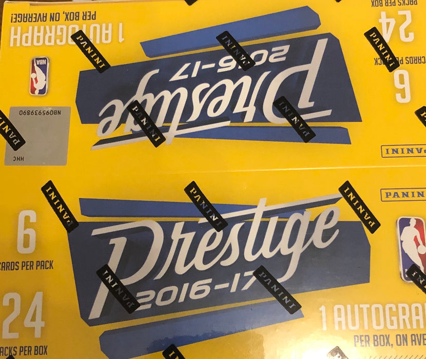 2016-17 Panini Prestige Basketball Retail Box - Sports Trading Cards UK