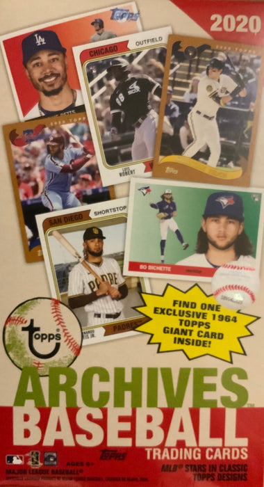2020 Topps Archives Baseball 7ct Blaster