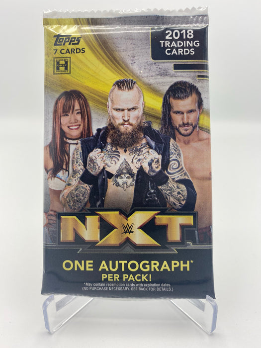 2018 Topps NXT Hobby pack - 1 Auto per pack - Sports Trading Cards UK