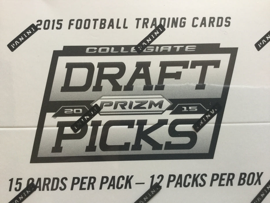 2015 Panini Prizm Collegiate Draft Picks Football 12 Value pack box -Average of 4 autos per box - Sports Trading Cards UK