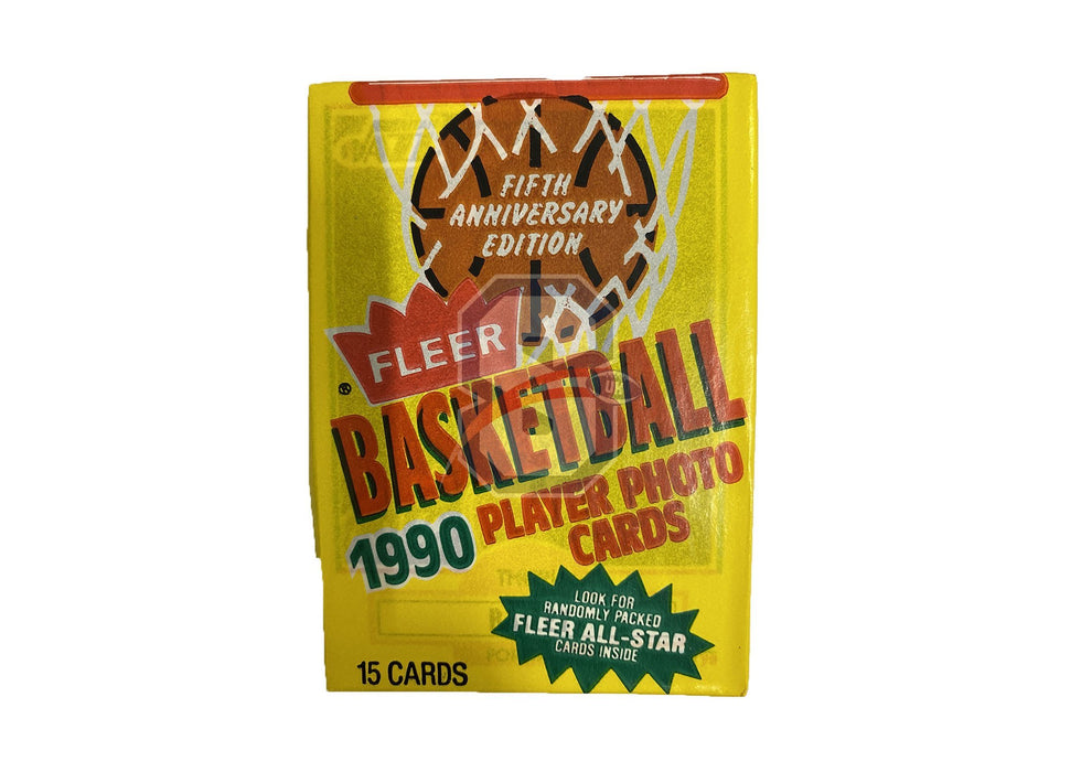 1990/91 Fleer Basketball Pack