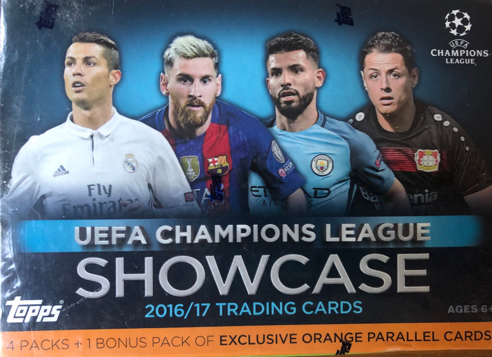 2016/17 Topps UEFA Champions League Showcase Soccer Blaster Box - Sports Trading Cards UK
