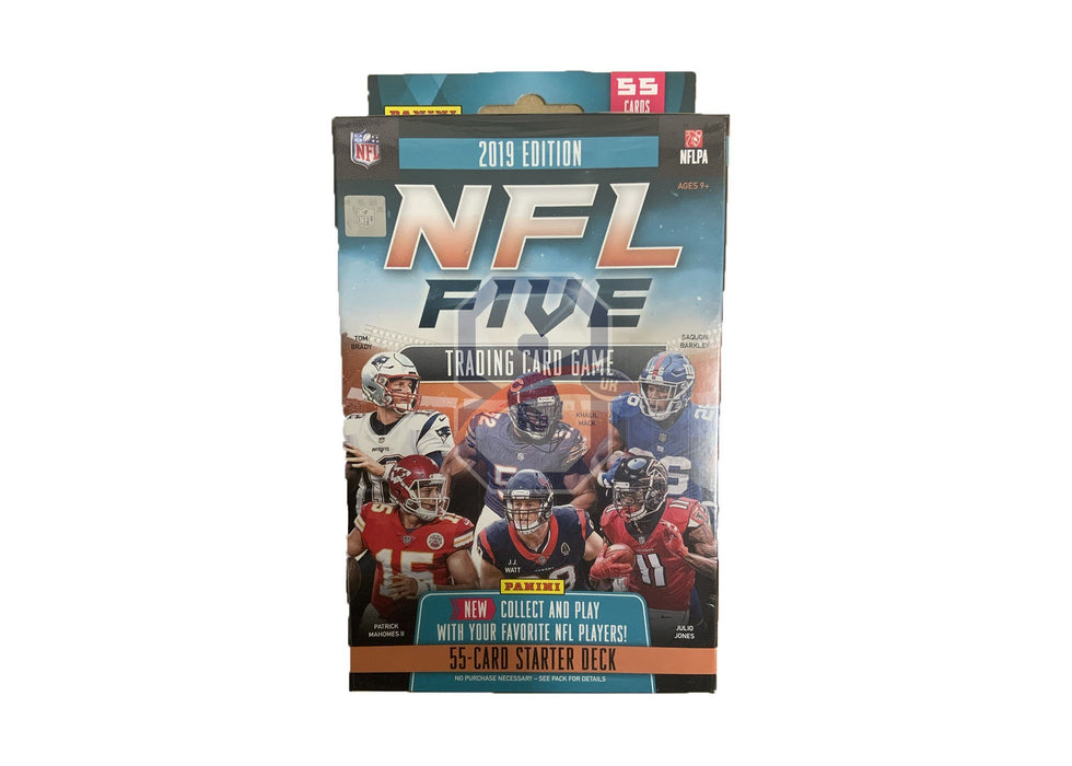 2019 Panini NFL FIve Trading Card Game Starter Kit Deck - 1 deck required per player. - Sports Trading Cards UK