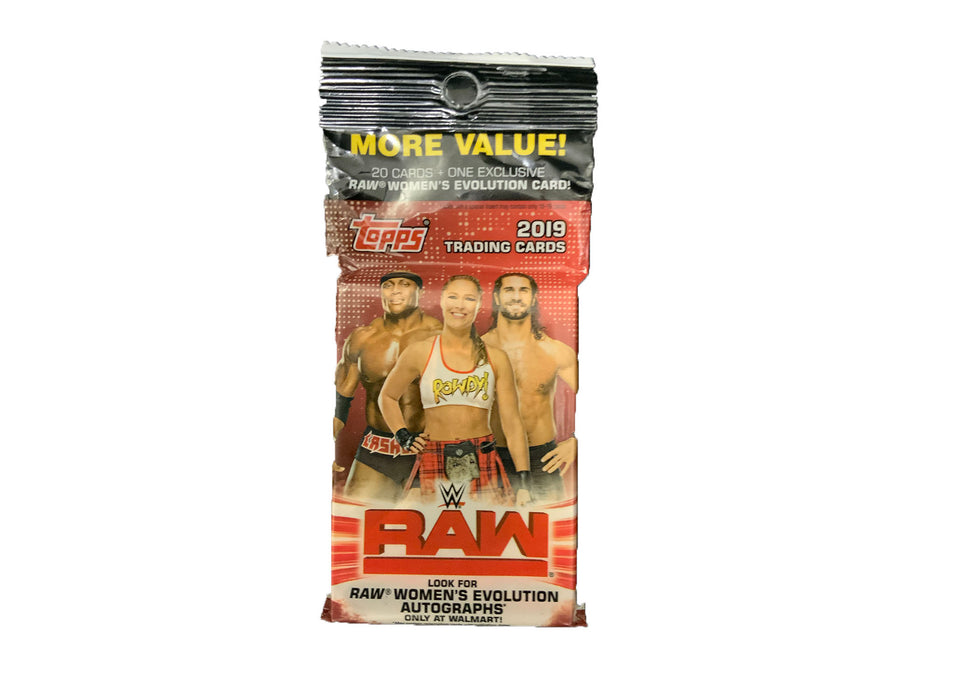 2019 Topps WWE RAW Fat Pack