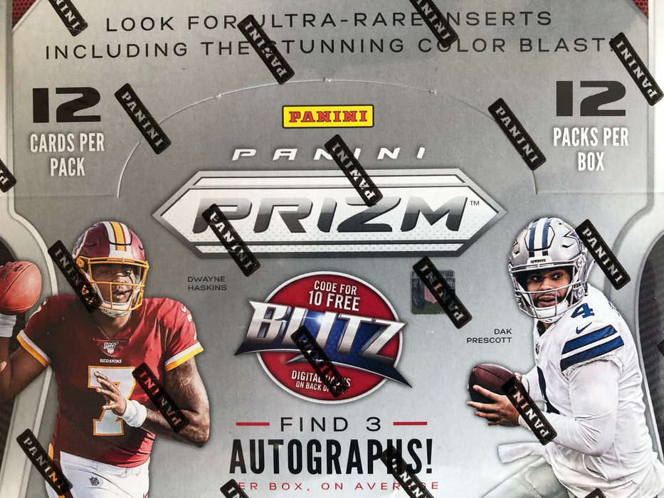 2019 Panini Prizm Football Hobby Pack - Sports Trading Cards UK