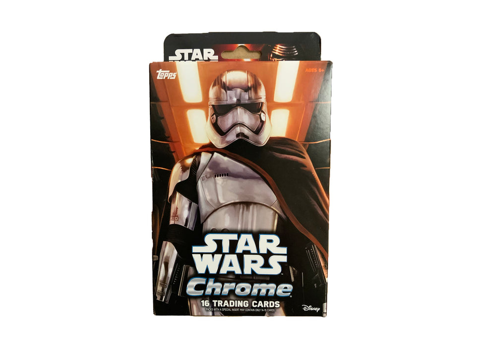2016 TOPPS CHROME STAR WARS THE FORCE AWAKENS HANGER BOX