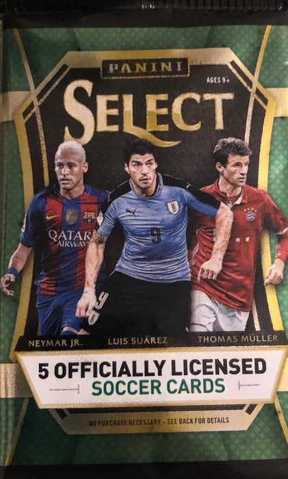 2016/17 Panini Select Soccer Hobby Pack - Sports Trading Cards UK