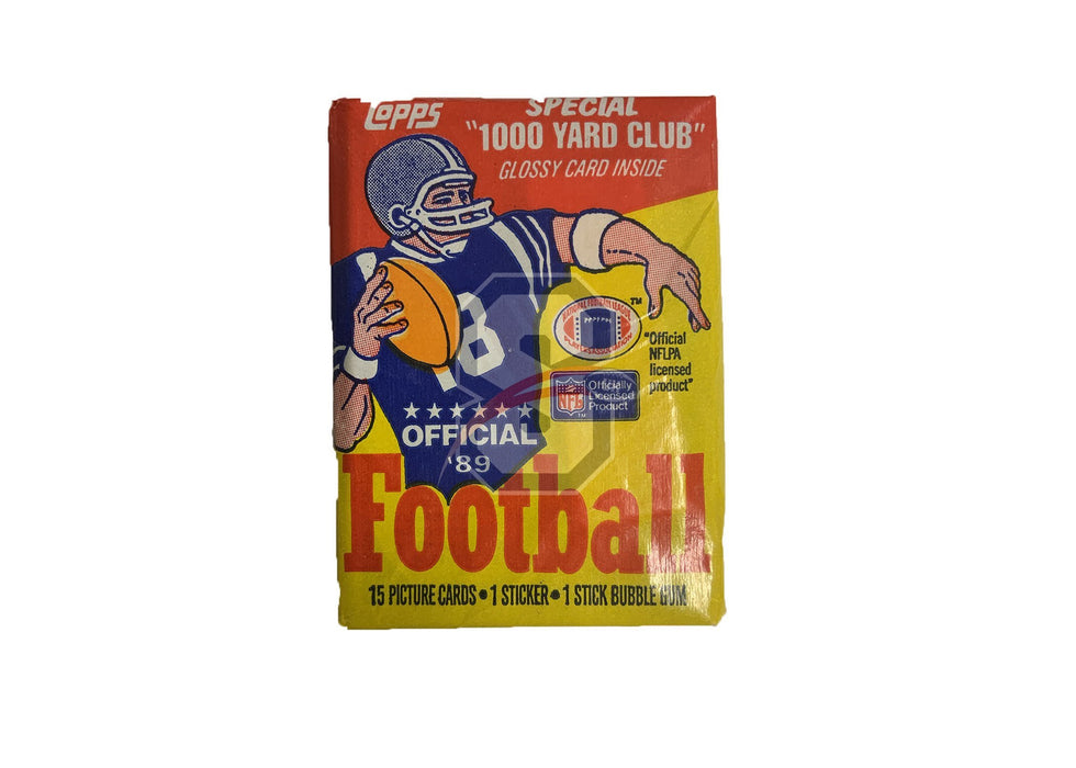 1989 Topps Football Wax Pack