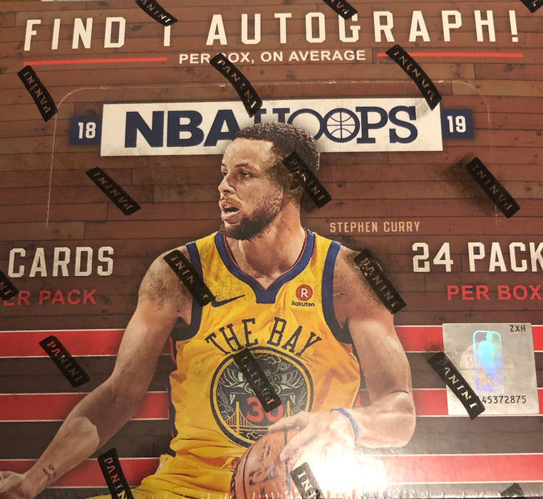 2018-19 Panini Hoops Basketball Retail Box - Sports Trading Cards UK
