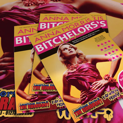 The MIDSIZE Brighton Fringe Package: 2500 A6 Flyers + 50 A3 Posters