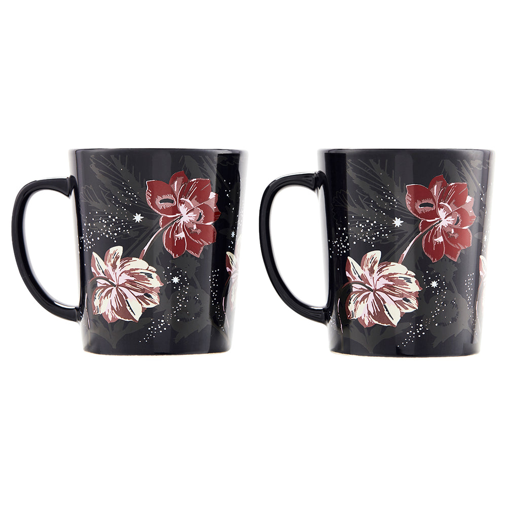 Floral Twilight Mug Set