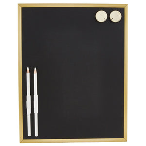 Small Magnetic Chalkboard with chalk board pens