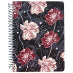 Floral Twilight Lined Notebook