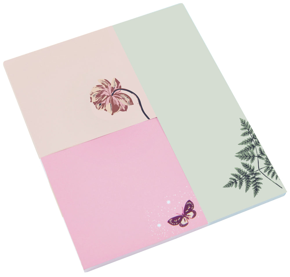 Floral Twilight Sticky Notepad