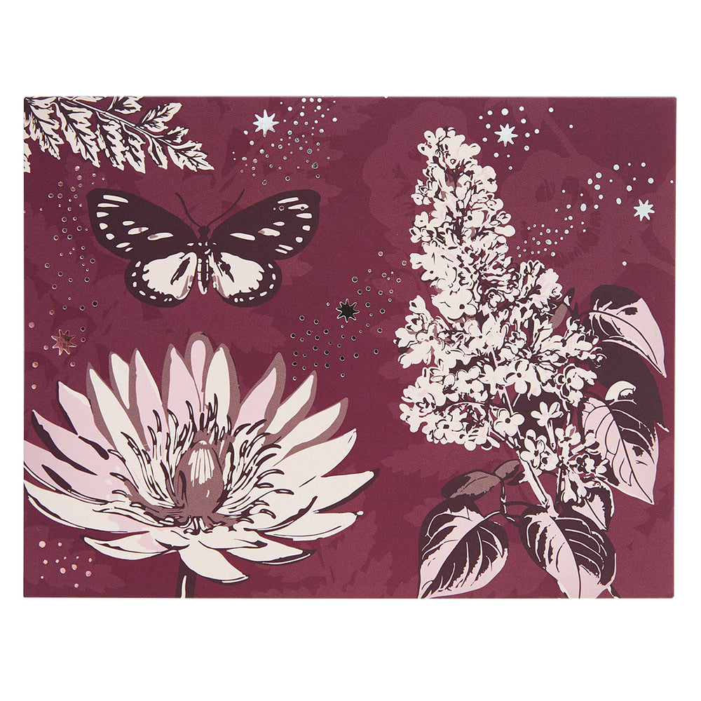 Floral Twilight Notecard Set