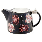 Floral Twilight Tea Pot
