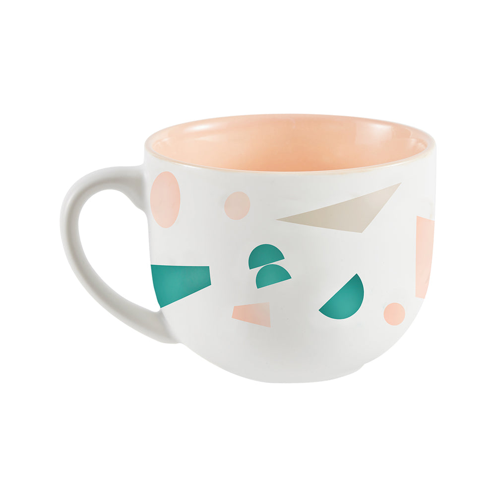 Graphic Impact Oversized Ceramic Mug