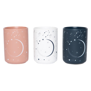 Starry Skies Set of 3 Vases