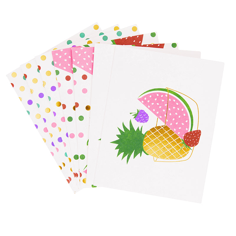 Isaac Mizrahi Loves xo, Sienna Fruity Fun Stationary Set