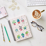Plant and Succulents Spiral Notebook Set