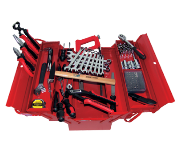 Caisse 430 mm + 91 Outils